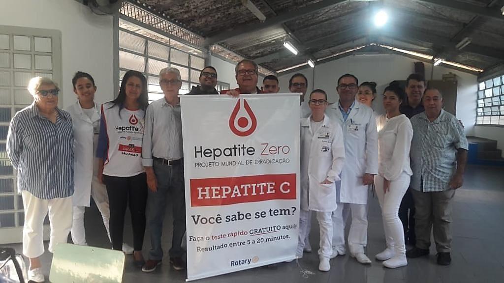 rotary no combate na campanha hepatite zero